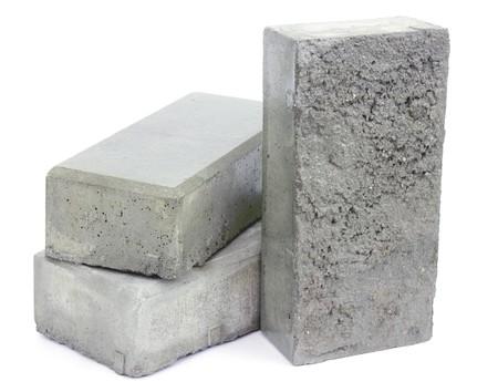 concreto: Bloques de hormig�n para allanar la acera