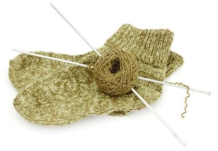 Socken aus Wolle der Startseite
