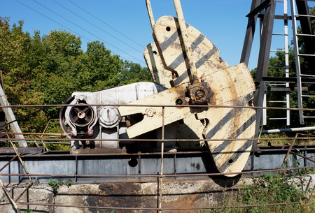 counterweight: The counterweight and gearbox oil machine- rocking chair