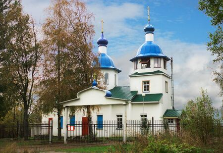 The Church in honor of the icon of the MostHoly mother of God  Pudozh  Russia Stock Photo - 17154335