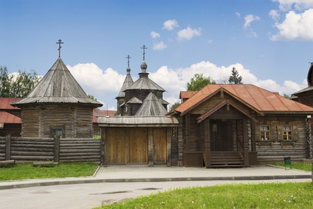 Wooden architecture of the eighteenth century. Suzdal. Russia