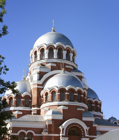 transfiguration: Cathedral of the Transfiguration in Nizhny Novgorod. Russia