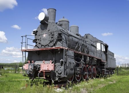 Steam locomotive built in Sweden from Russian project in 1922-1924 years photo