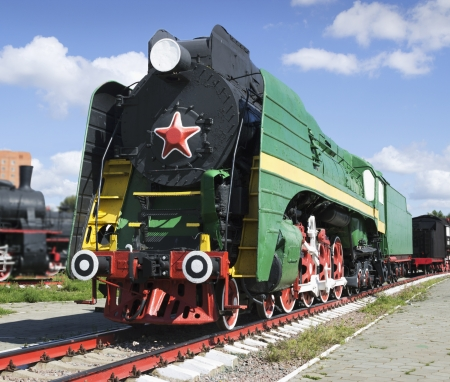 xx century: Soviet long-haul passenger locomotive 50-ies of the XX century