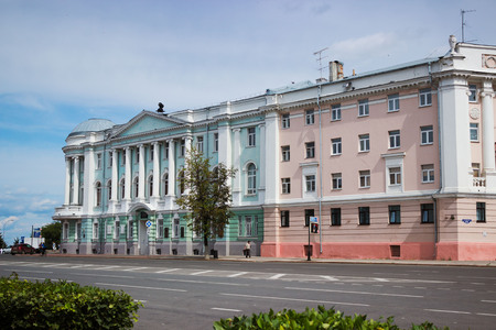 institutions: RUSSIA, NIZHNY NOVGOROD, CIRCA JUL 2015: The building of the medical Academy. One of the educational institutions of Nizhny Novgorod Editorial