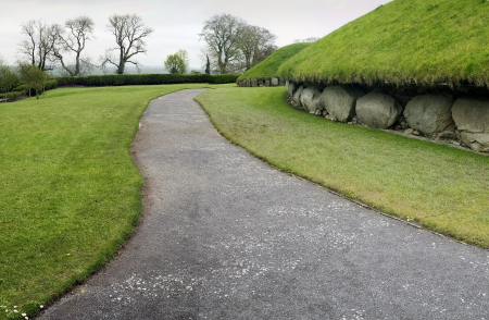 Knowth is a Neolithic Passage Grave, 3300 - 2800 BC, Boyne Valley, Co  Meath, Ireland