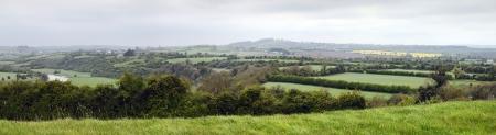 co  meath: Panorama River Boyne Valley near Knowth, Co  Meath, Ireland