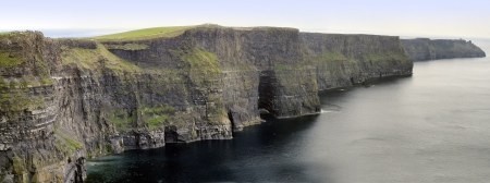 The Cliffs of Moher, also called Cliffs of Mohair, are one  outstanding coastal features of Ireland and one of its most beautiful landmarks