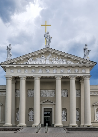 sainthood: The Cathedral of Vilnius is the main Roman Catholic Cathedral of Lithuania