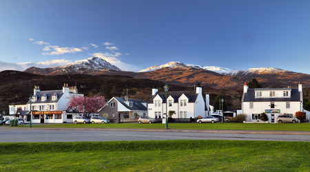 bb: Kyleakin in the early morning, Isle of Skye, Scotland