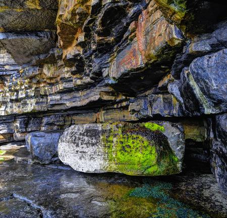 Muckross Head is a small peninsula in north-western Ireland. Stok Fotoğraf