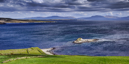 Fintra Bay, Co.Donegal, Ireland , Europe. Fintra Bay scenic view spot