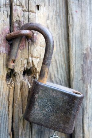 Old lock Stock Photo - 16163508