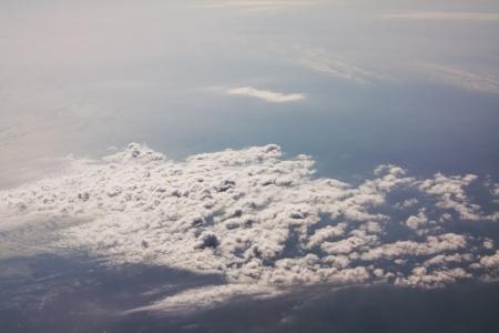 Sopra le nuvole Archivio Fotografico