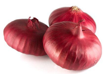 Three onions Stock Photo - 16260136