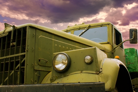 Vecchio camion Archivio Fotografico
