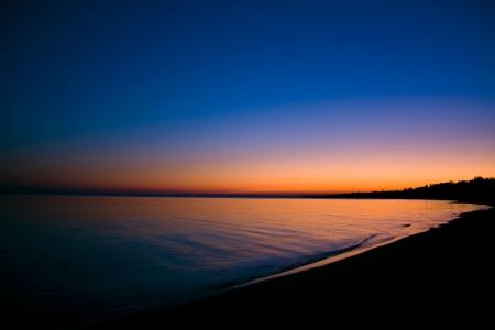 water s edge: Marine tramonto
