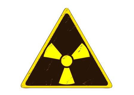 radiation: Sign of radiation Illustration