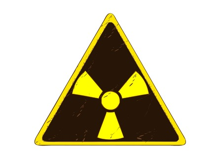 radiacion: Signo de radiaci�n Vectores