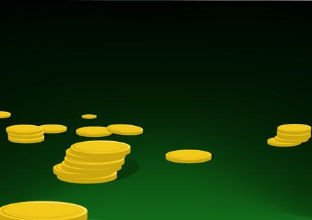 hoard: Gold coins
