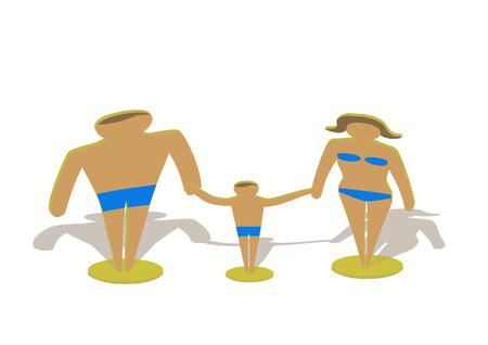 Famiglia giocattolo