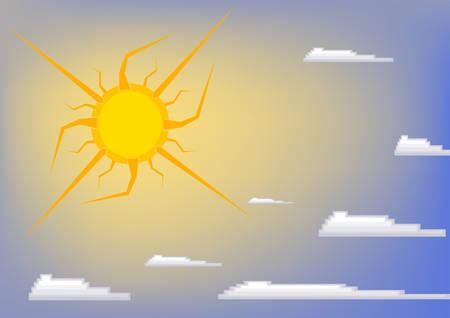 allegory: Sun on sky