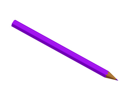 copy writing: Purple pencil