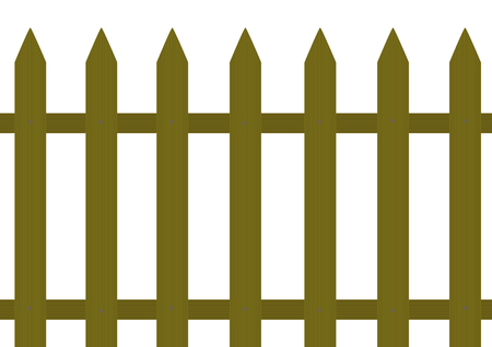 corral: Wooden fence