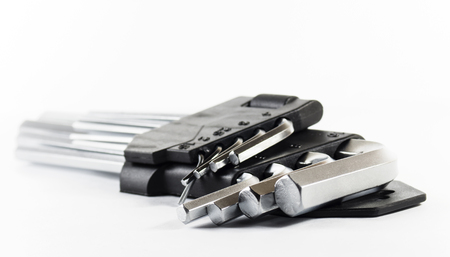 Hex Key Set on a white background