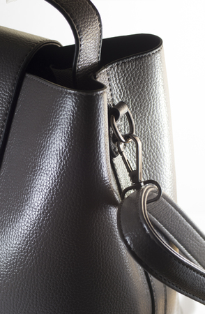 Womens bag, part with strap Stock Photo