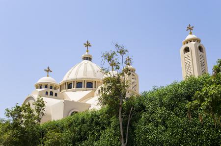 coptic orthodox: Coptic Church in Sharm El Sheikh Stock Photo