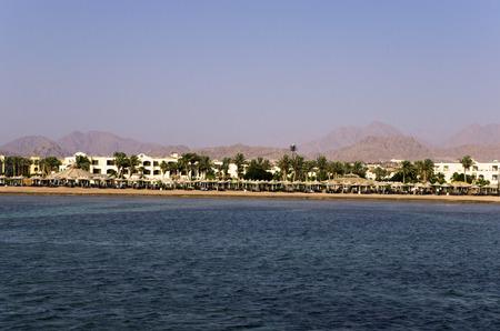 Hotels on the Red Sea coast Banco de Imagens