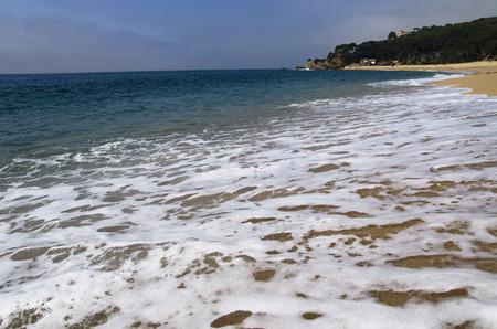 Coast Costa Brava in Spain Banco de Imagens