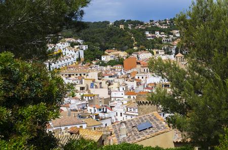 Landscape of the mediterranean city, Tossa