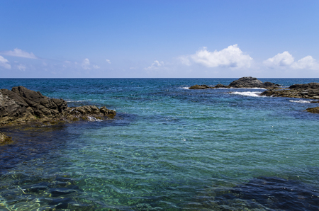 Panorama of the Mediterranean Sea, Spanish Coast