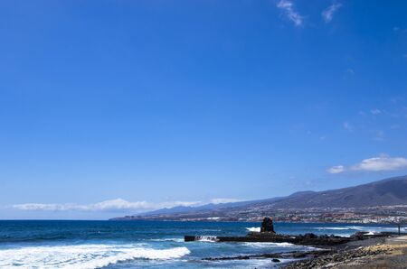 Landscape of the south coast of Tenerife Archivio Fotografico - 132073023