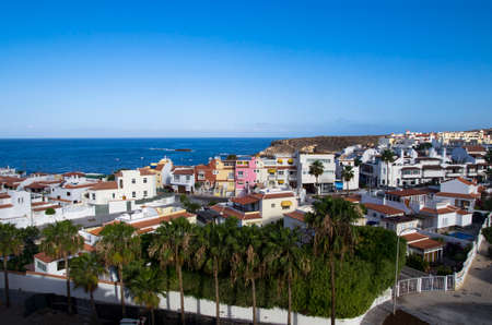 Bright houses by the sea, Tenerife