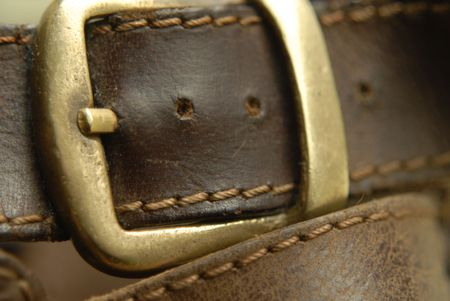 clasp: leather belt clasp
