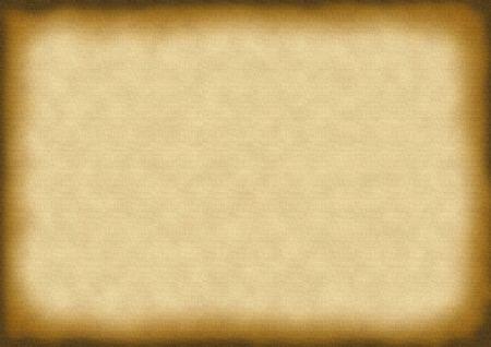 encaustic: burned paper background Stock Photo
