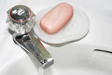 bathroom tap and soap photo