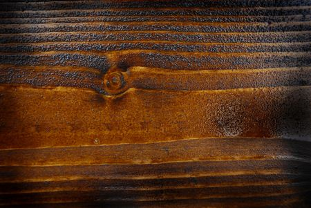 burned wooden plank photo