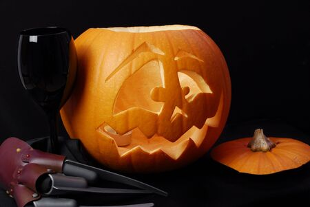 halloween pumpkin Stock Photo - 5670548