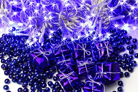 christmas decoration and lighting photo