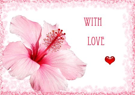 greeting with love photo