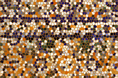 tessellated: mosaic stained glass background