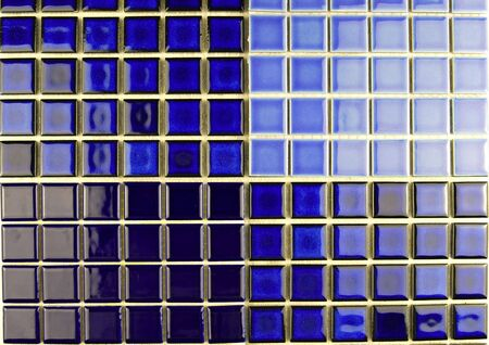 ceramic blue mosaic tiles Stock Photo - 6426432