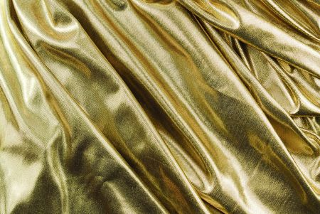 golden fabric texture waved photo