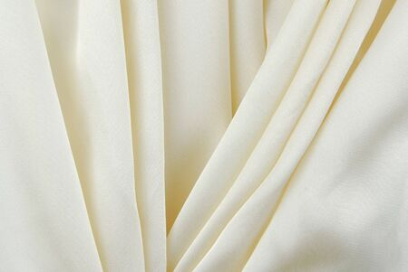 creasy: white creamy fabric  creasy texture