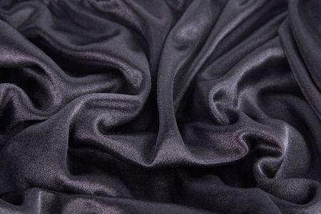 black silk texture Stock Photo - 6512572