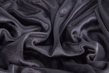 black silk texture Stock Photo - 6512572